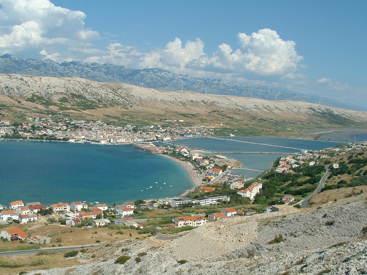 ostrov Pag Chorvatsko